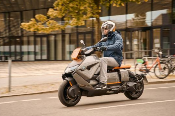 BMW launches CE 04 electric scooter