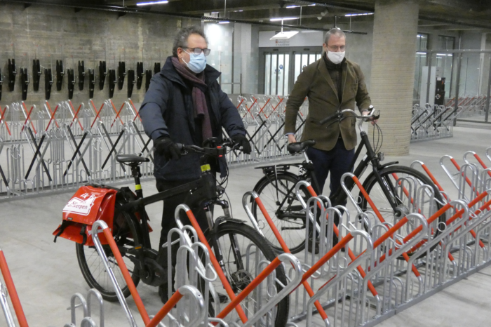 Antwerp: Groenplaats gets covered bicycle parking with 800 spaces