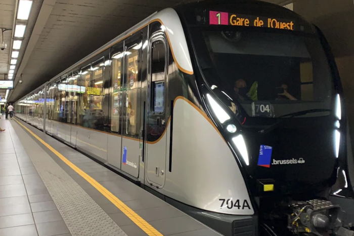 Brussels welcomes new M7 subway carriages