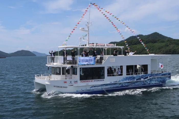 Japan's first hydrogen-fueled ferry uses Belgian tech