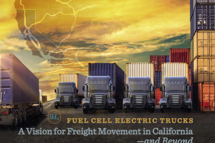 'California to envision 70 000 heavy-duty fuel cell trucks by 2035'