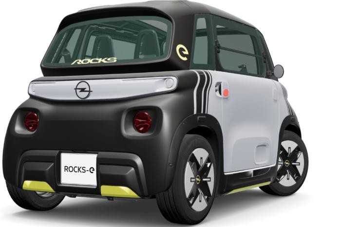 Opel launches Citroën Ami twin Rocks-e