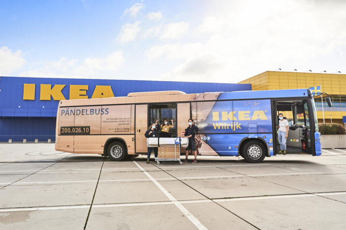 IKEA introduces free 'Pändelbuss' to and from Antwerp