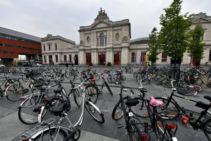 Louvain police use 'lure bikes' to catch thieves