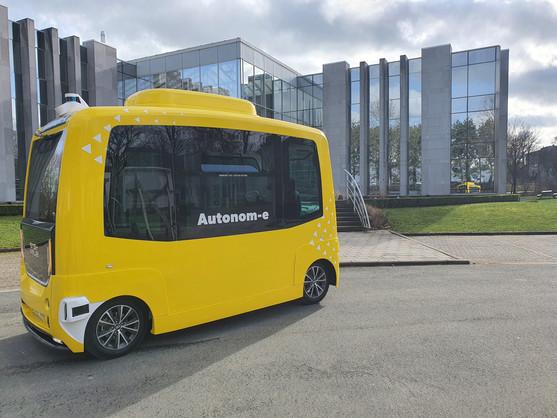 TEC's self-driving shuttle test: 'positive feedback'