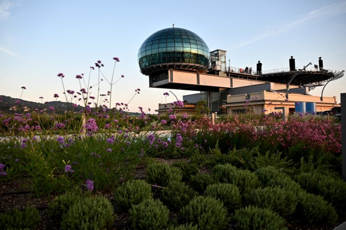 Fiat transforms Lingotto rooftop track in hanging garden
