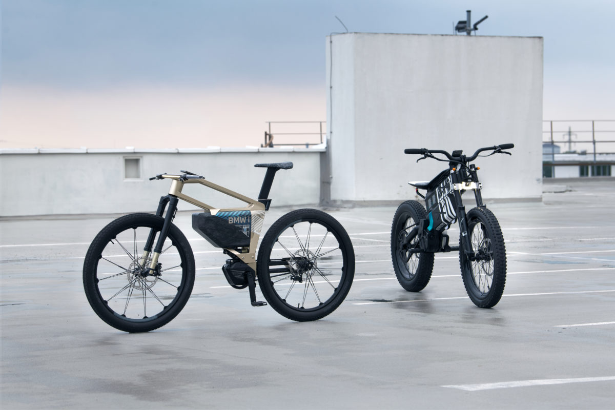 Motorbike or bicycle? BMW reinvents two-wheeler with Amby