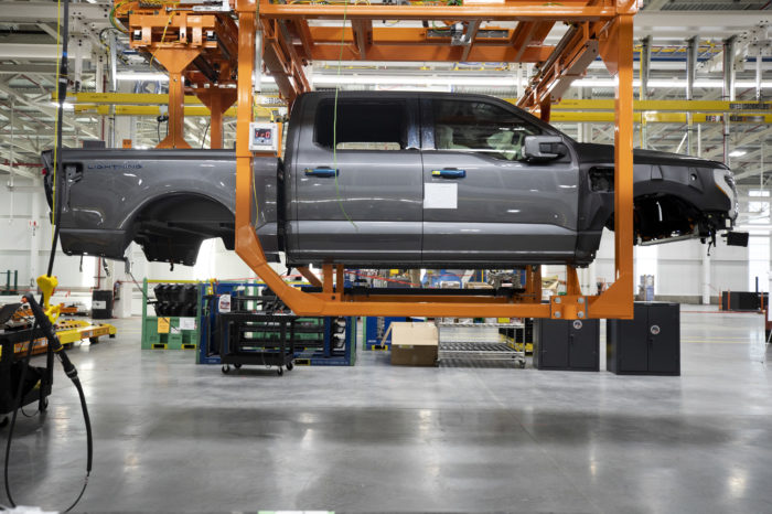 Ford forced to double production of electric F-150 Lightning