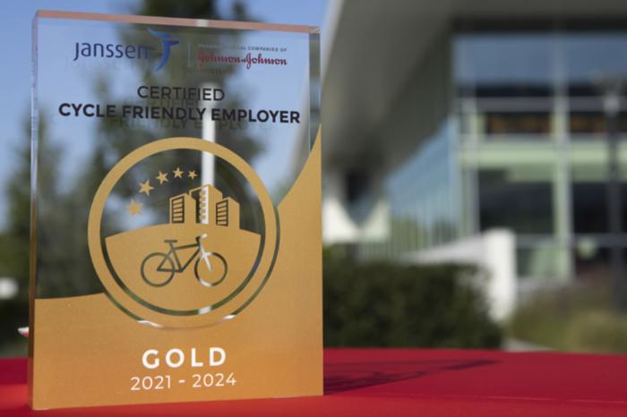 Janssen Pharma rewarded as golden cycle-friendly employer