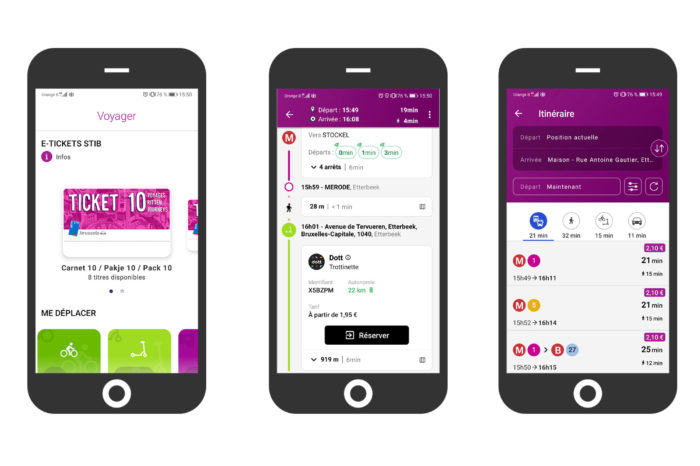 MoveBrussels MaaS app ready by the end of 2022