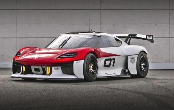 Porsche's Mission R, a next-generation electric 718?