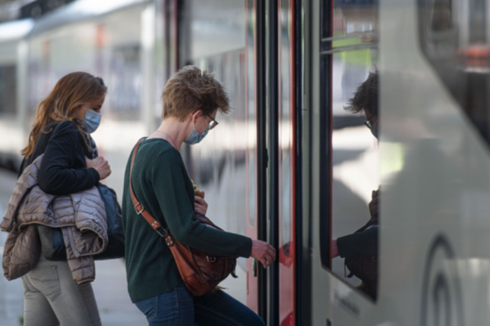 Most people on Belgian trains and metro since start of pandemic