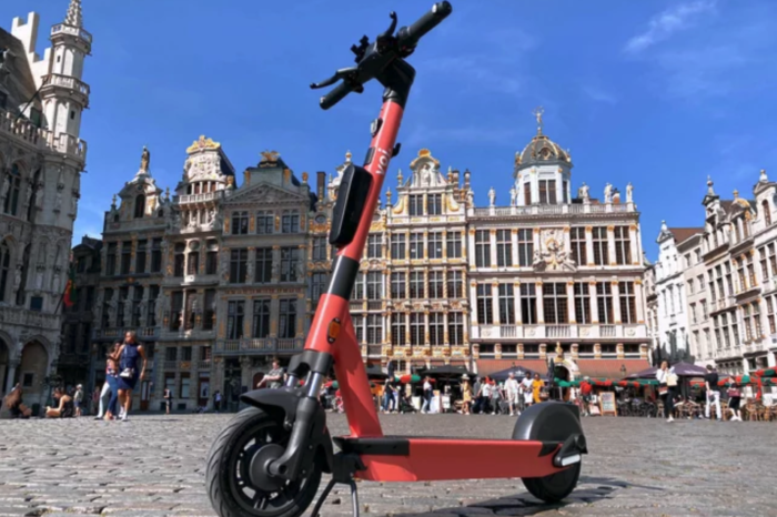 Swedish Voi launches 2 000 shared e-scooters in Brussels