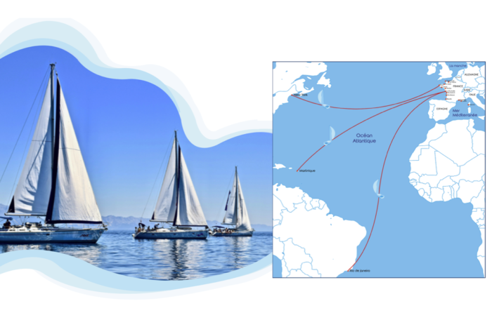 French Sailcoop: carbon-free sailing to replace flying