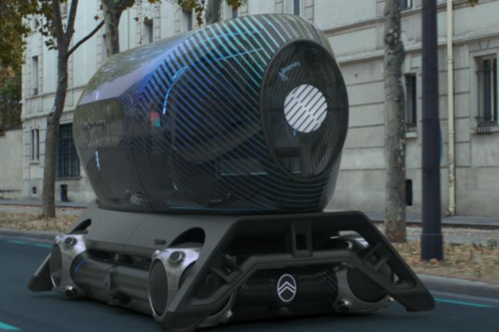Citroën presents autonomous 'Skate' concept