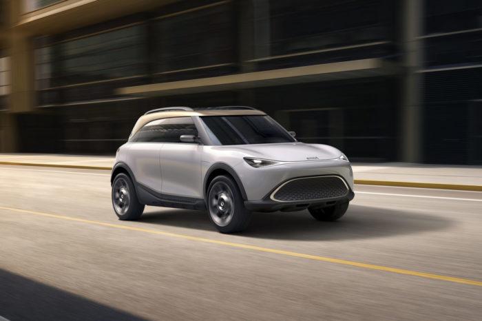 Concept #1 previews smart's electric future