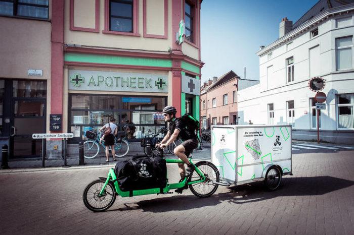 Antwerp cargo bike project avoids 3 000 van trips every year