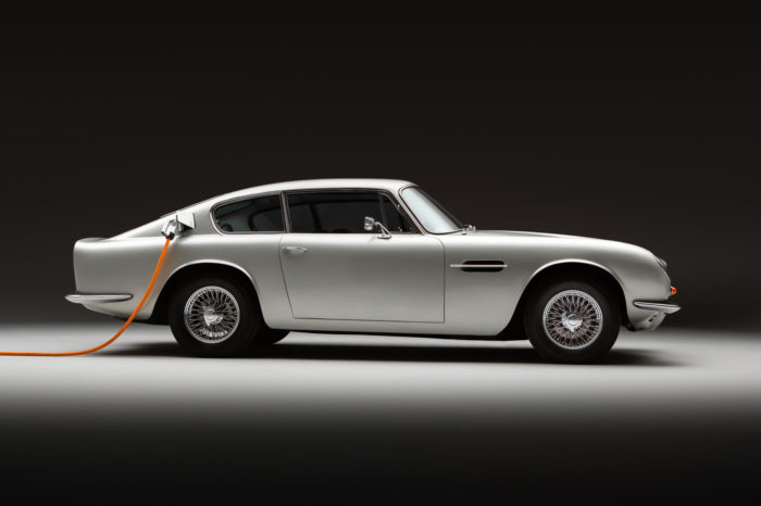 Classic charged for the future: all-electric Aston Martin DB6