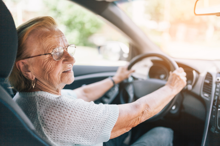 8 out of 10 senior citizens can still drive safely