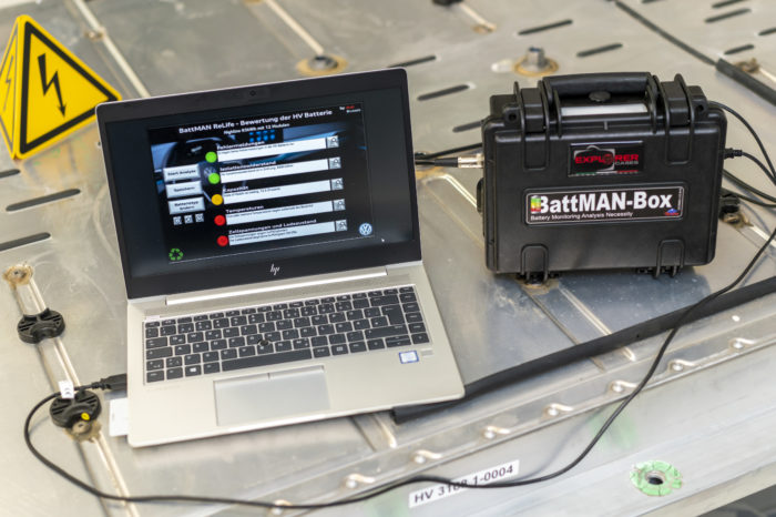 Audi Brussels' BattMAN decides: second life or recycling?