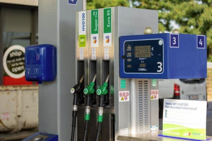 Seven Belgian Q8 stations to offer fossil-free HVO100 diesel