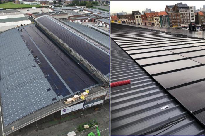 Abattoir of Anderlecht has largest solar roof in Europe