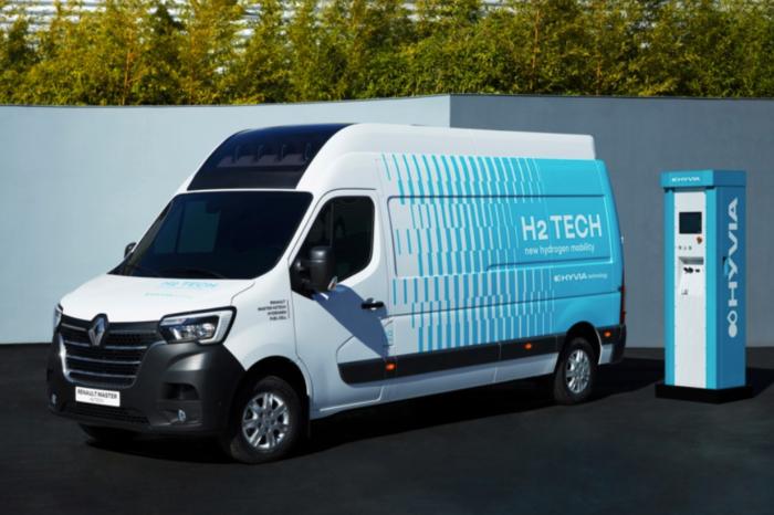 Hyvia unveils its first Renault Master on hydrogen