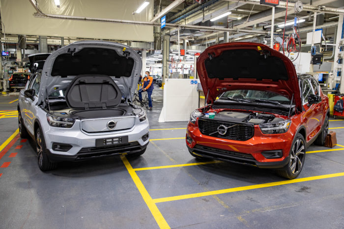 One in five new Belgian cars registered is 'electrified'